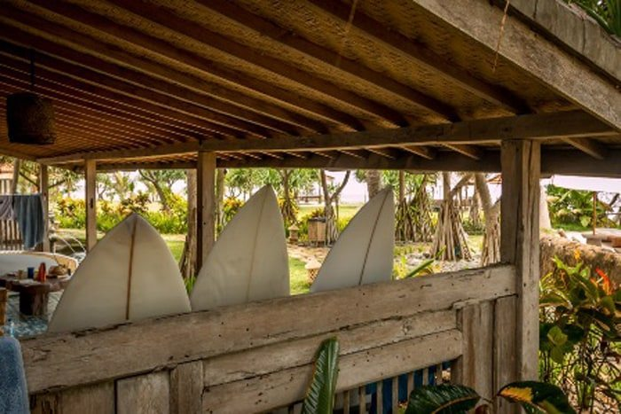 Yoga and Surf Bungalows in West Bali