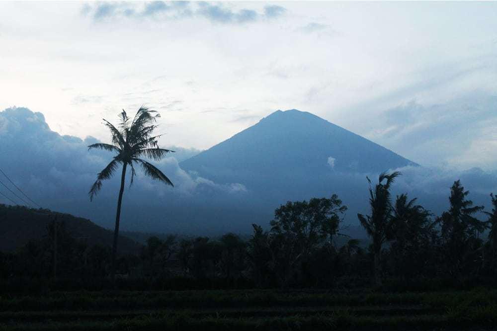 Volcano in Amed, Bali