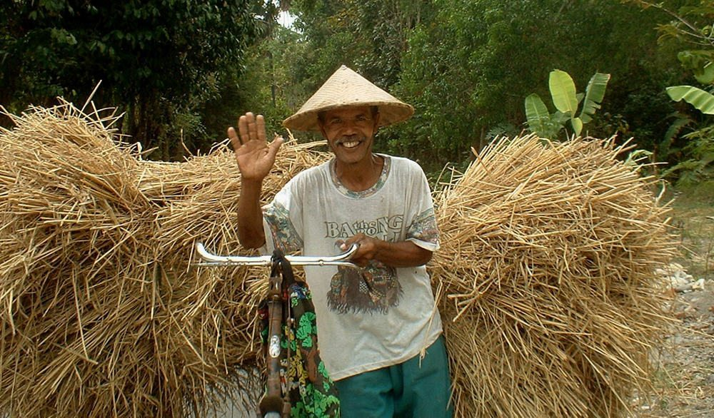 A smile from IndonesiaTraditional Cottages in Ubud