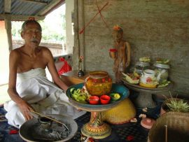 Session with a Balinese Healer