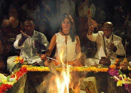 Agni Hotri Fire Ceremony Bali